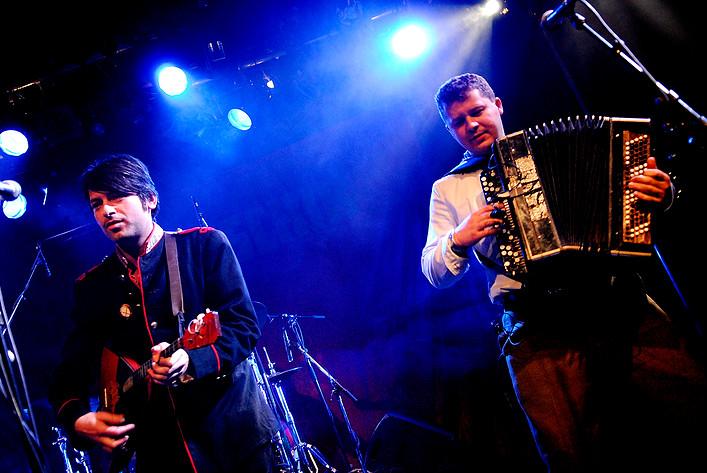2006-12-08 - Apparatschik performs at Kägelbanan, Stockholm