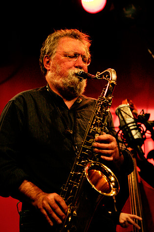 2007-02-12 - Evan Parker performs at Fasching, Stockholm