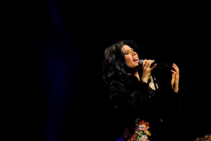 2007-03-06 - Jill Johnson performs at Cirkus, Stockholm