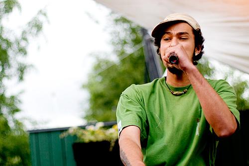 2007-06-30 - Prop Dylan spelar på Peace & Love, Borlänge
