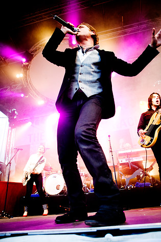 2007-07-29 - Andreas Johnson performs at Skeppsbron, Stockholm