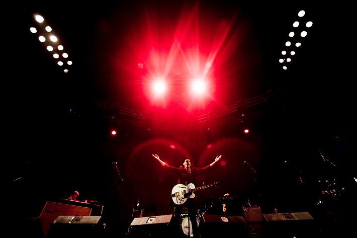 2007-09-08 - Håkan Hellström performs at Gröna Lund, Stockholm