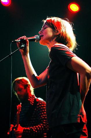 2007-10-20 - Anna Järvinen performs at Debaser Medis, Stockholm