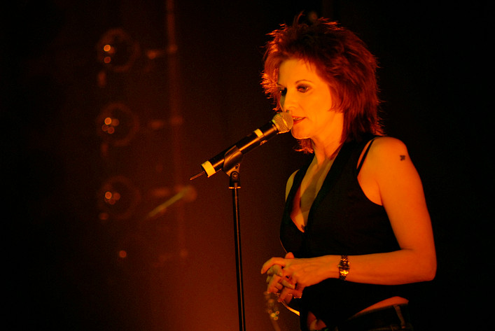 2008-04-06 - Anne-Lie Rydé performs at Rival, Stockholm