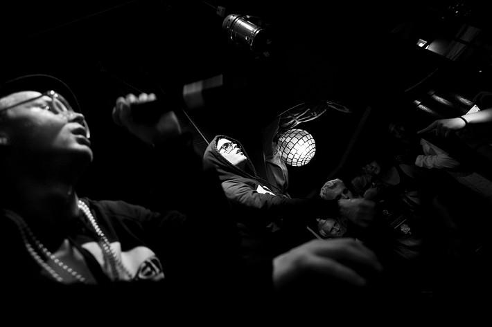 2008-07-25 - Maskinen performs at The Cod, Strömstad