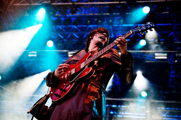 2009-05-29 - Mando Diao spelar på Siesta!, Hässleholm