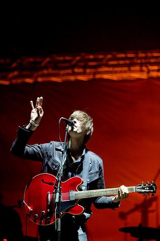 2009-06-26 - Mando Diao spelar på Peace & Love, Borlänge