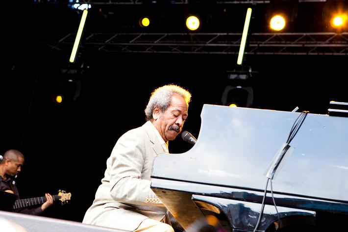 2009-07-15 - Allen Toussaint spelar på Stockholm Jazz Festival, Stockholm