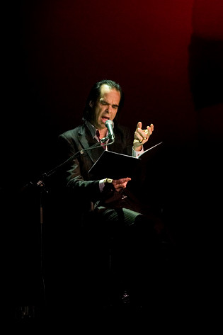 2009-10-20 - An evening with Nick Cave performs at China Teatern, Stockholm