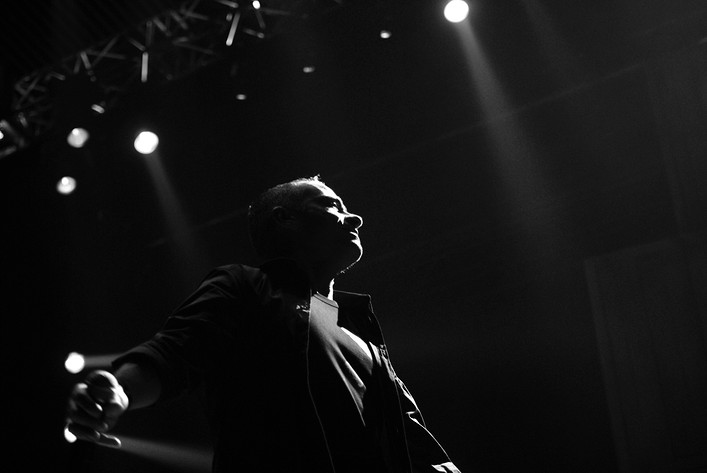 2009-11-12 - Eros Ramazzotti spelar på Globen, Stockholm