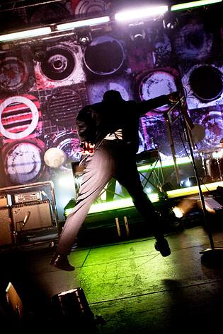 2010-02-04 - Thåström performs at Lisebergshallen, Göteborg