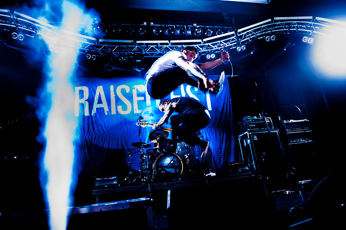 2010-03-26 - Raised Fist performs at Umeå Open, Umeå