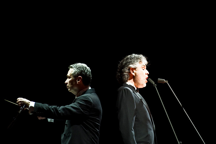 2010-04-11 - Andrea Bocelli performs at Globen, Stockholm
