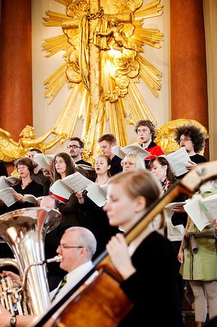 2010-04-15 - Missa Mariposa spelar på Domkyrkan, Göteborg
