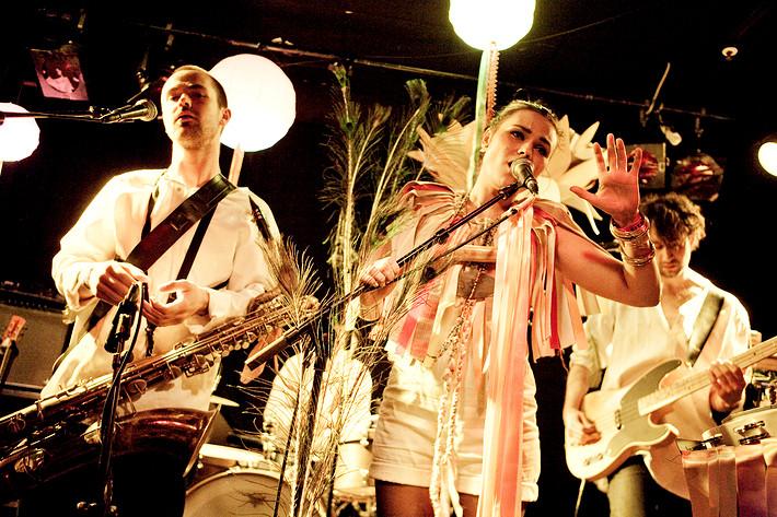 2010-04-22 - As in Rebekkamaria performs at Pusterviksbaren, Göteborg