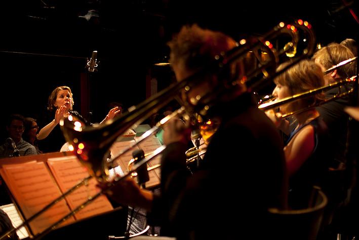 2011-01-31 - Ann-Sofi Söderqvist Jazz Orchestra performs at Fasching, Stockholm