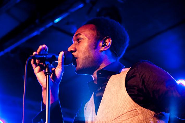 2011-04-16 - Aloe Blacc & The Grand Scheme performs at Debaser Hornstulls Strand, Stockholm