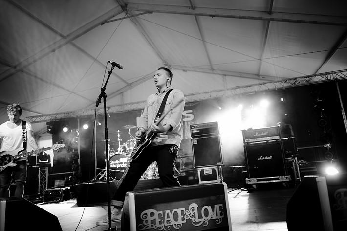 2011-06-30 - The Glorious Animals spelar på Peace & Love, Borlänge