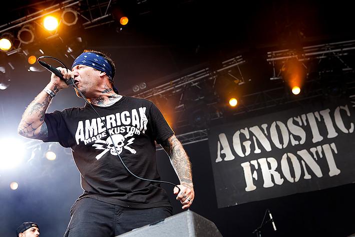 2011-07-08 - Agnostic Front performs at Getaway Rock, Gävle