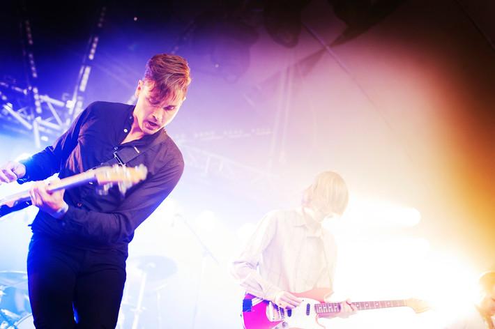 2011-08-23 - Scraps of Tape performs at Malmöfestivalen, Malmö