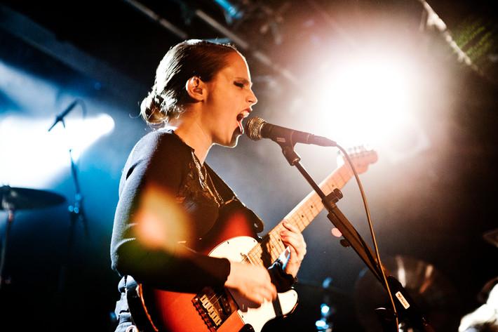 2011-10-12 - Anna Calvi performs at Debaser Slussen, Stockholm