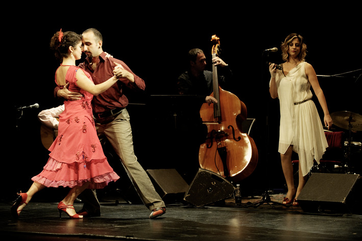 2011-10-29 - İncesaz Tango Project performs at Södra Teatern, Stockholm