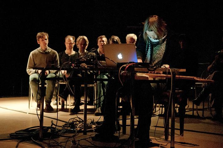 2011-12-08 - Anette Krebs performs at Fylkingen, Stockholm