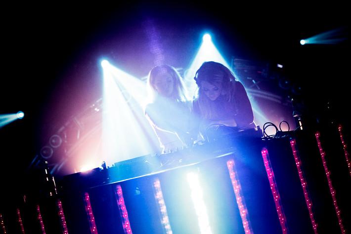 2012-02-16 - Rebecca & Fiona performs at Trädgår'n, Göteborg