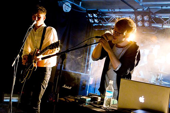 2012-02-17 - Simian Ghost spelar på ByLarm, Oslo