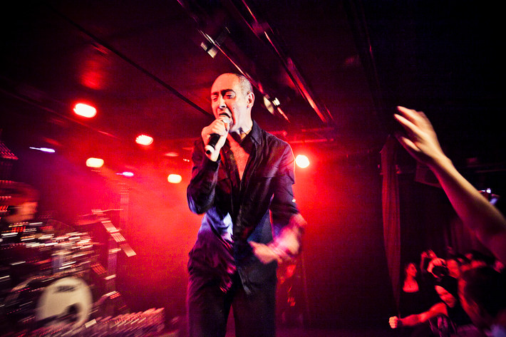 2012-02-18 - DAF performs at Debaser Hornstulls Strand, Stockholm