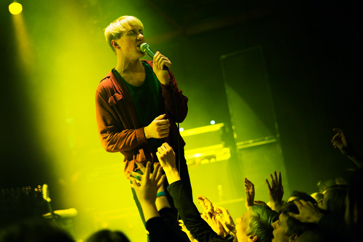 2012-03-08 - The Drums performs at Mejeriet, Lund
