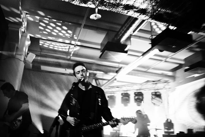 2012-03-28 - Glasvegas spelar på Fotografiska, Stockholm