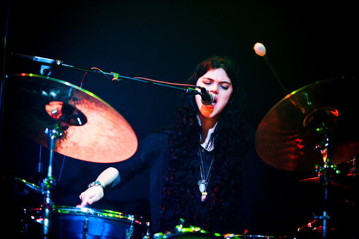 2012-04-06 - Soko performs at Debaser Medis, Stockholm