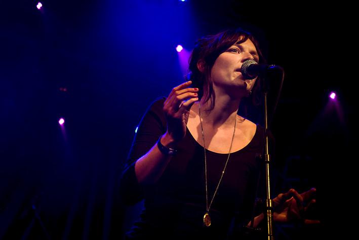 2012-06-29 - Anna Ihlis performs at Peace & Love, Borlänge