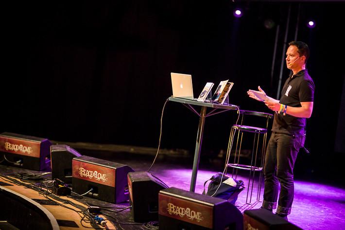 2012-06-30 - Att vara Mats Jonsson performs at Peace & Love, Borlänge