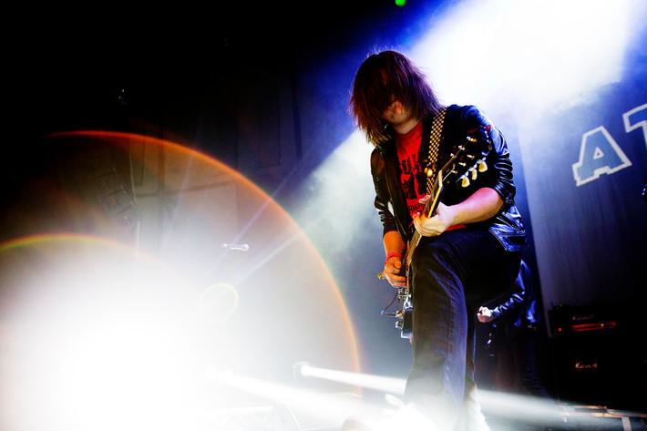 2012-07-06 - Attitude performs at Getaway Rock, Gävle