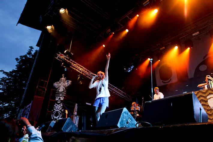 2012-07-07 - Den Svenska Björnstammen spelar på Putte i Parken, Karlstad