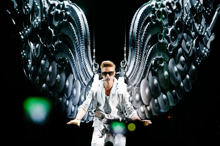 2013-04-22 - Justin Bieber performs at Globen, Stockholm