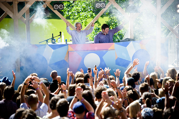 2013-08-09 - Giorgio Moroder performs at Way Out West, Göteborg