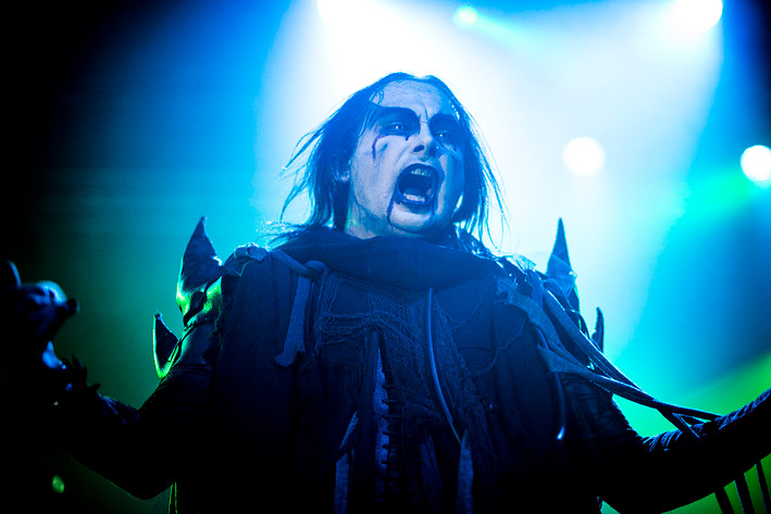 2014-02-25 - Cradle Of Filth performs at Tyrol, Stockholm