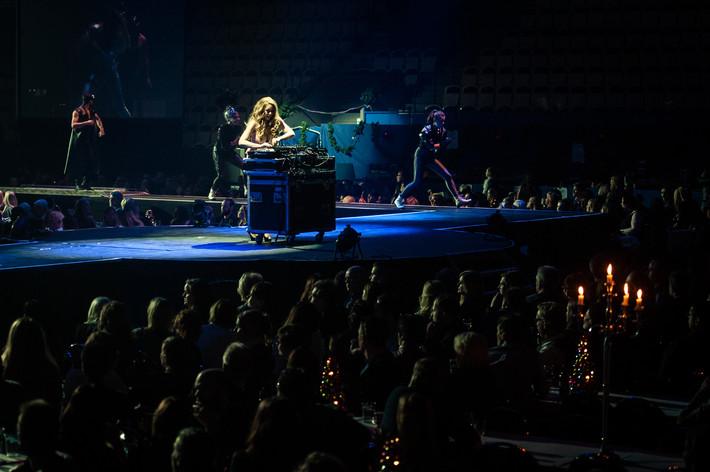 2014-12-11 - Julgalan spelar på Vida Arena, Växjö