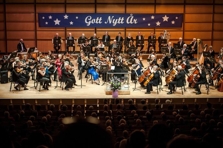 2015-01-04 - Växjö Stads Symfoniorkester performs at Växjö konserthus, Växjö