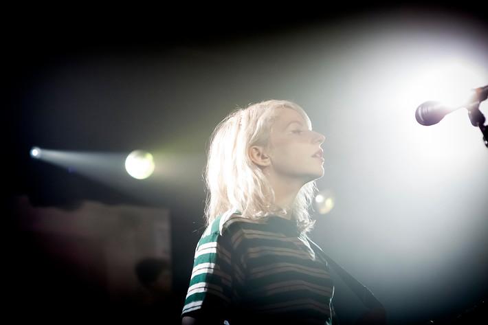 2015-02-06 - Alvvays performs at Debaser Hornstulls Strand, Stockholm