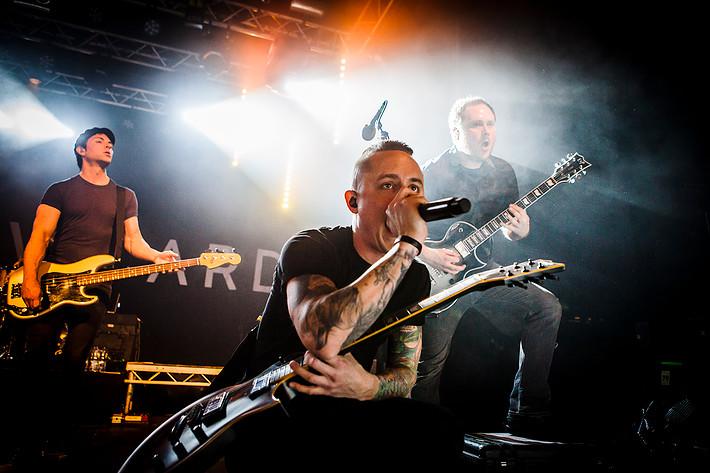 2015-03-25 - Yellowcard performs at Fryshuset, Stockholm