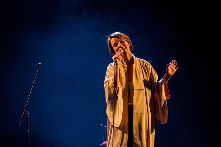 2015-03-28 - Anna Järvinen performs at Södra Teatern, Stockholm