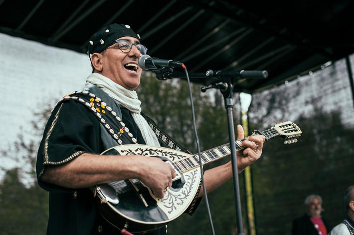 2015-05-09 - Achbal Souss performs at Biskopsgårdens dag, Göteborg