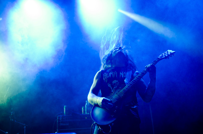 2015-06-19 - Aura Noir performs at Tons of Rock, Halden