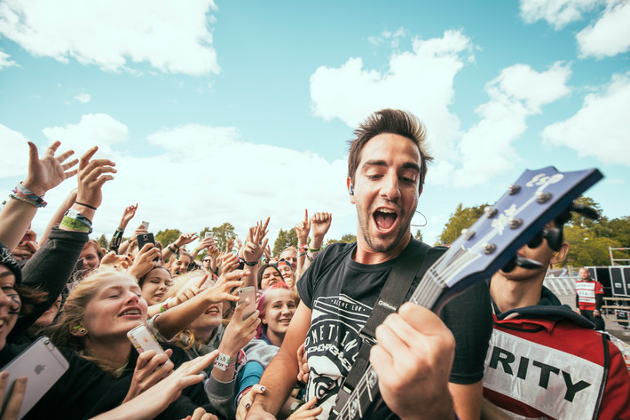 2015-06-26 - All Time Low performs at Bråvalla, Norrköping