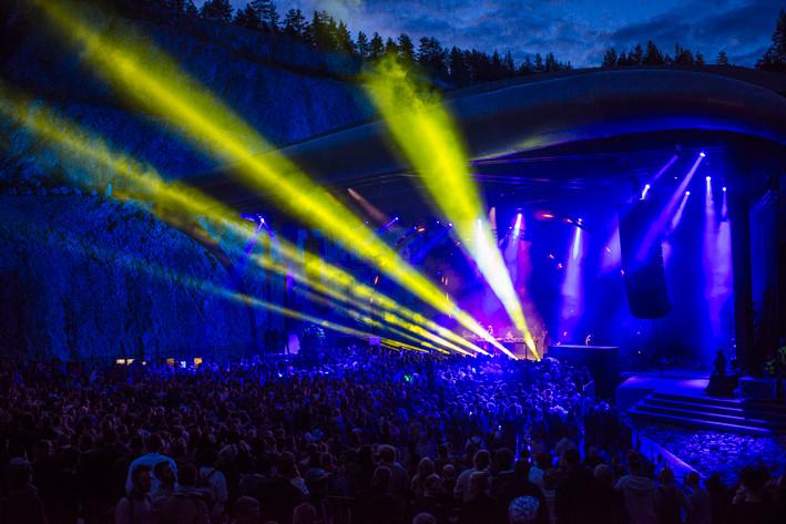 2015-07-31 - Adam Beyer & Ida Engberg spelar på Into the valley, Rättvik
