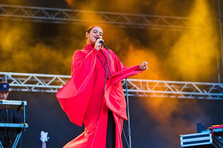2015-08-12 - Seinabo Sey spelar på Göteborgs Kulturkalas, Göteborg